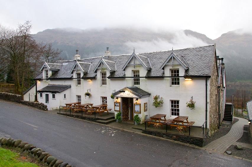 Whistlelfield Inn Loch Eck Dunoon Sold