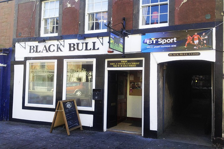 The Black Bull Charges on Thanks to Bruce & Co.