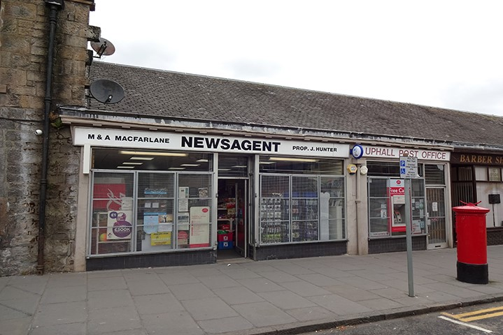 Broxburn Post Office and Newsagents Sold by Bruce & Co.