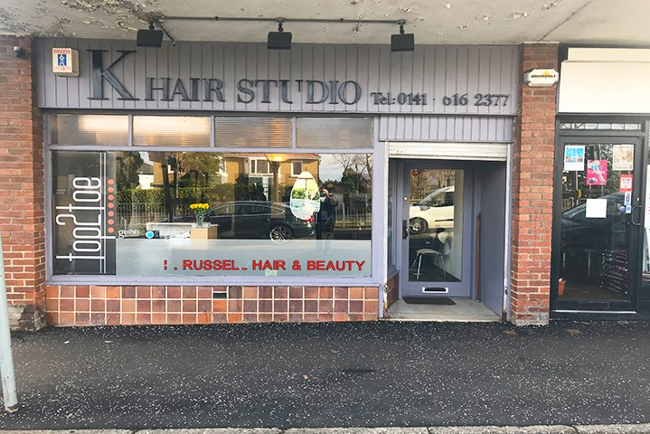 K Russell Hair Studio Sold by Bruce & Co.